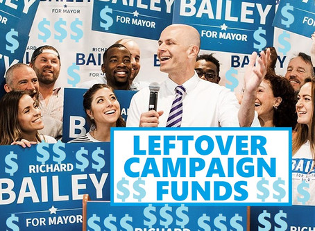 Leftover Campaign Funds
