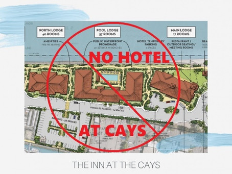 No Hotel At Cays