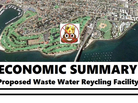 Economic Summary of Proposed Waste Water Recycling Facility