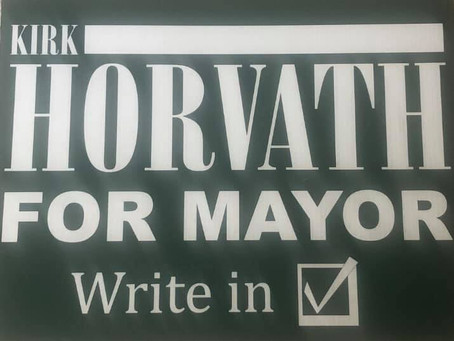 Q&A with Mayoral Write-In Candidate Kirk Horvath