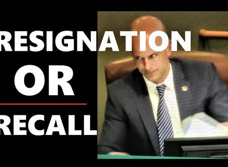 Resignation or Recall
