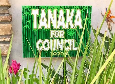 Endorsement:  Casey Tanaka for City Council