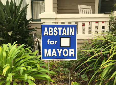 Abstain for Mayor