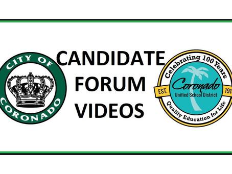 2020 Candidate Forum Videos