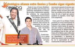 Roberto Falquez y Amaury Gutierrez