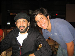 Roberto Falquez y Juan Luis Guerra