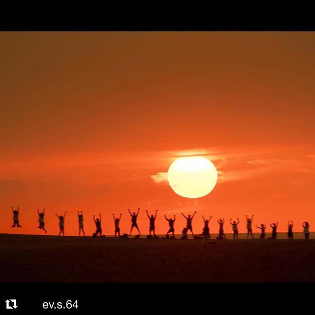 8月の締めくくりは_鳥取県の企業様がレクレーションで砂丘ヨガ体験に!_かけがえの