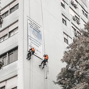 Ação Social 2020 realizada durante a pandemia pela Executar em parceria com Hospital PUC