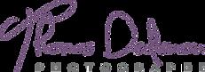logo de thomas dedenon photographe à troyes