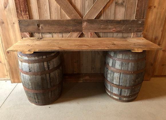 Rustic Barrel Top