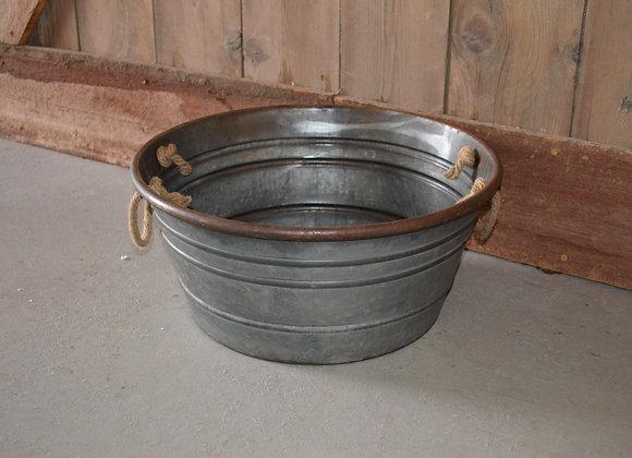 Metal Wide Bucket
