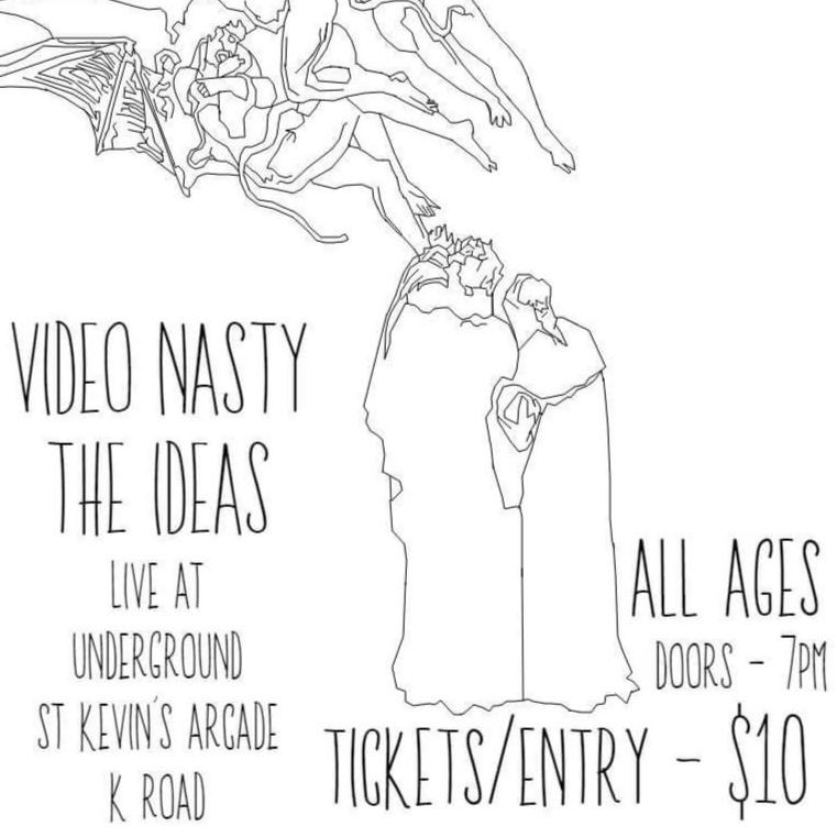 Video Nasty & The Ideas live at Underground