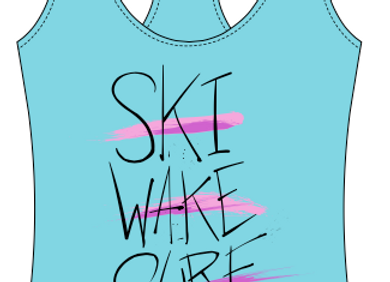 Women's Ski. Wake. Surf. Gekko Tank - Cancun Blue