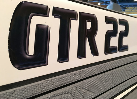 GTR 22 Domed Decal