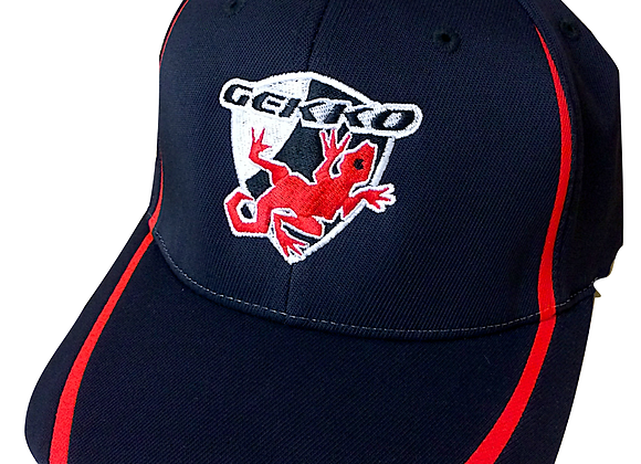 Embroidered Gekko Badge Flex Fit Cap