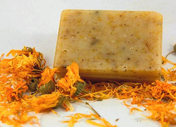 סבון פרחי קלנדולה