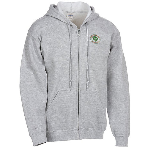 Gildan Full-Zip Hoodie (Box of 6) Embroidered