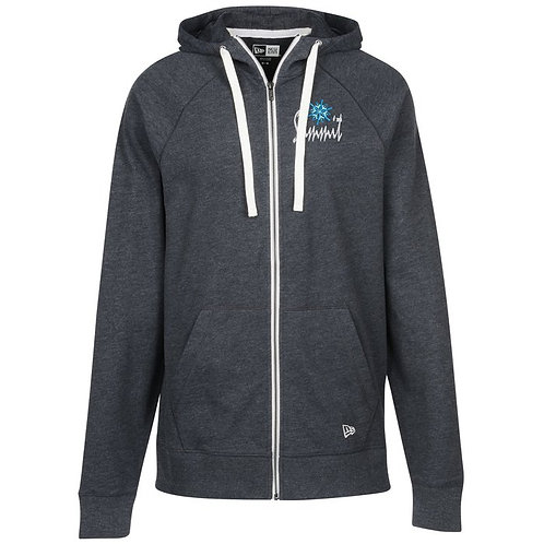 New Era Sueded Cotton Full-Zip Hoodie (Box of 12) Embroidered or Screen Print