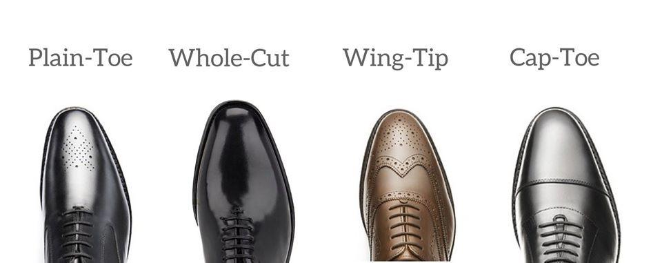 vrste oxford dizajna cipela