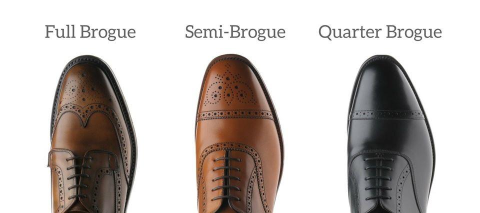 vrste brogue cipela