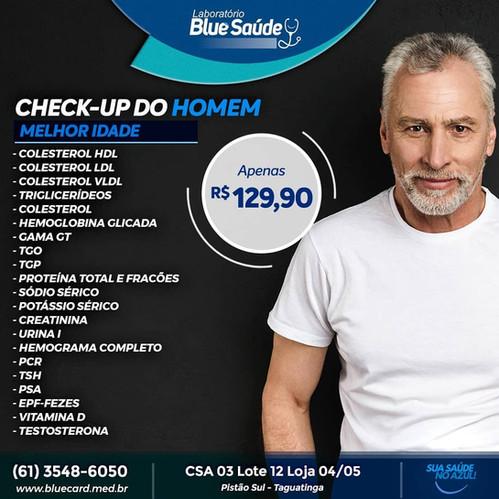 exame colesterol preço aguas claras