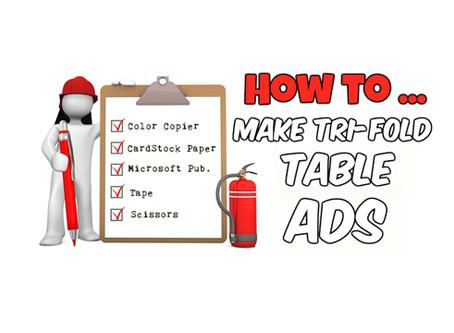 How To Make Tri-Fold Ads