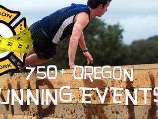 750+ Oregon Running Events!