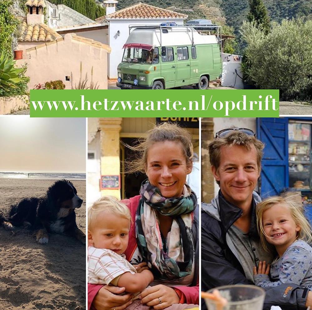 het zwaarte.nl op drift, travel with kids