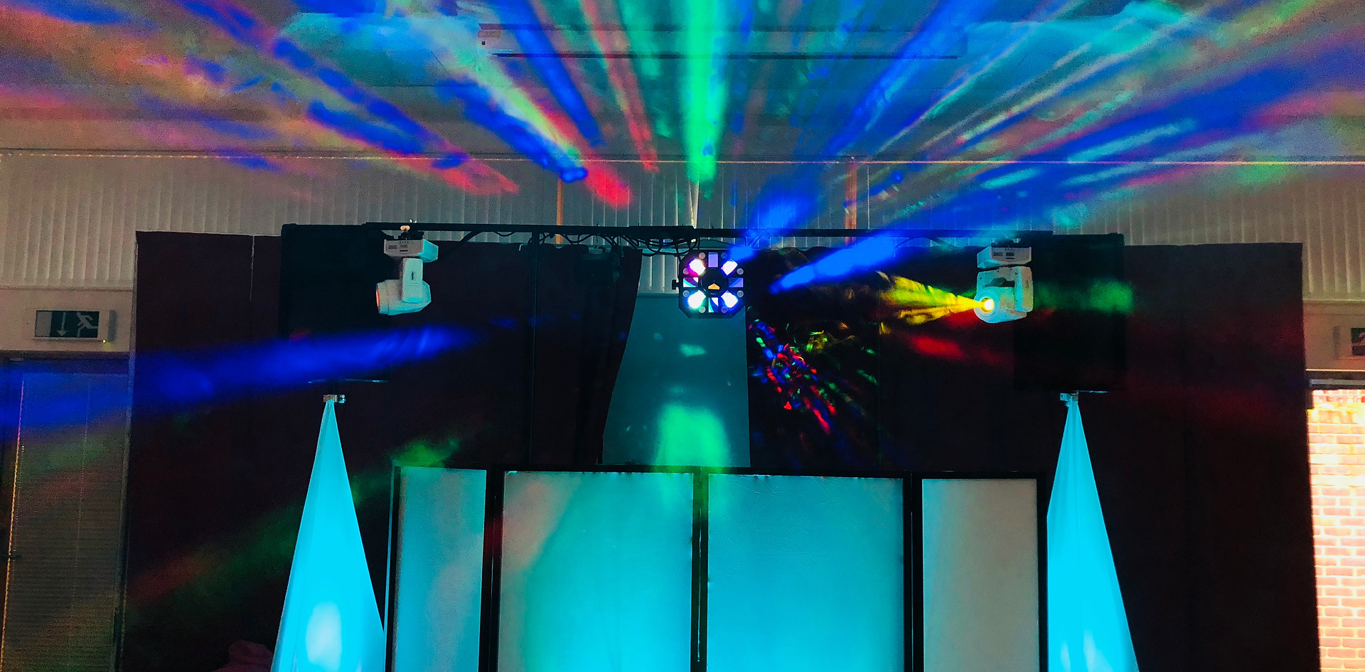 light show - Kent DJ Hire