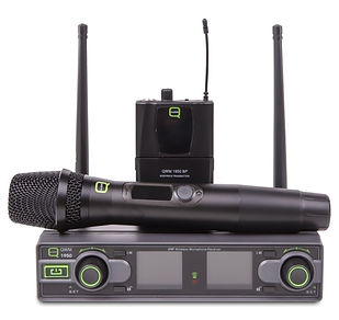 Our wireless mics