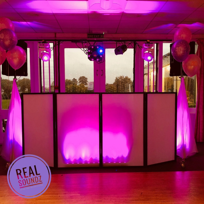 Full pink set up