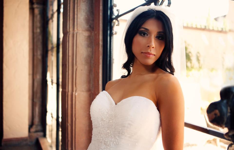 Bronzed bride