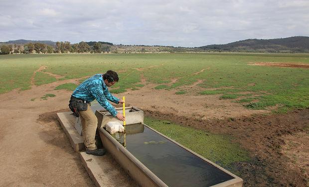 waterwatch trough measurement