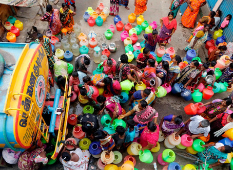 Hundreds of millions at risk from India's water crisis.