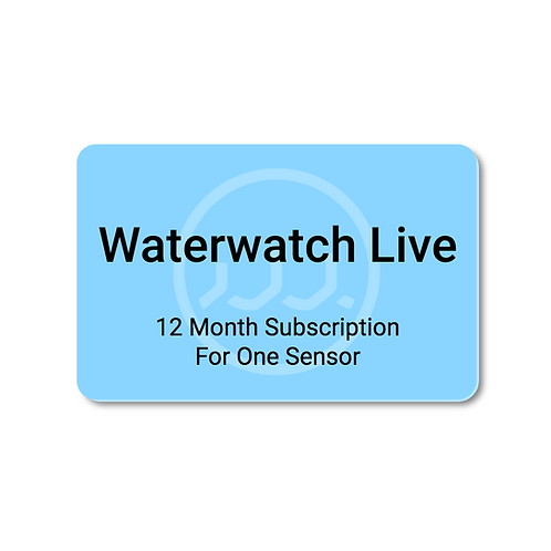 Waterwatch Live Subscription