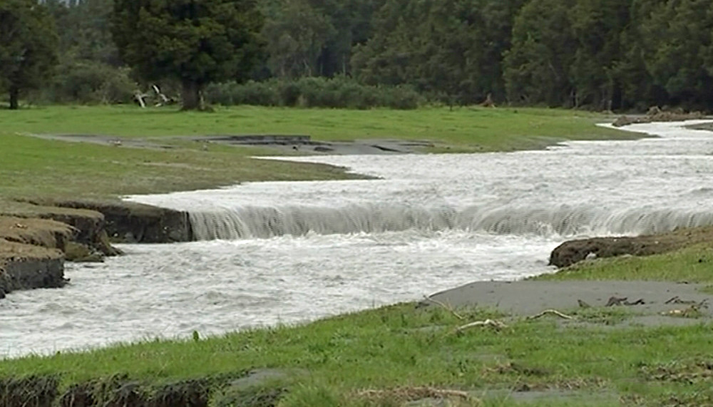 Flooding farmland, Waiho Flats | Waterwatch