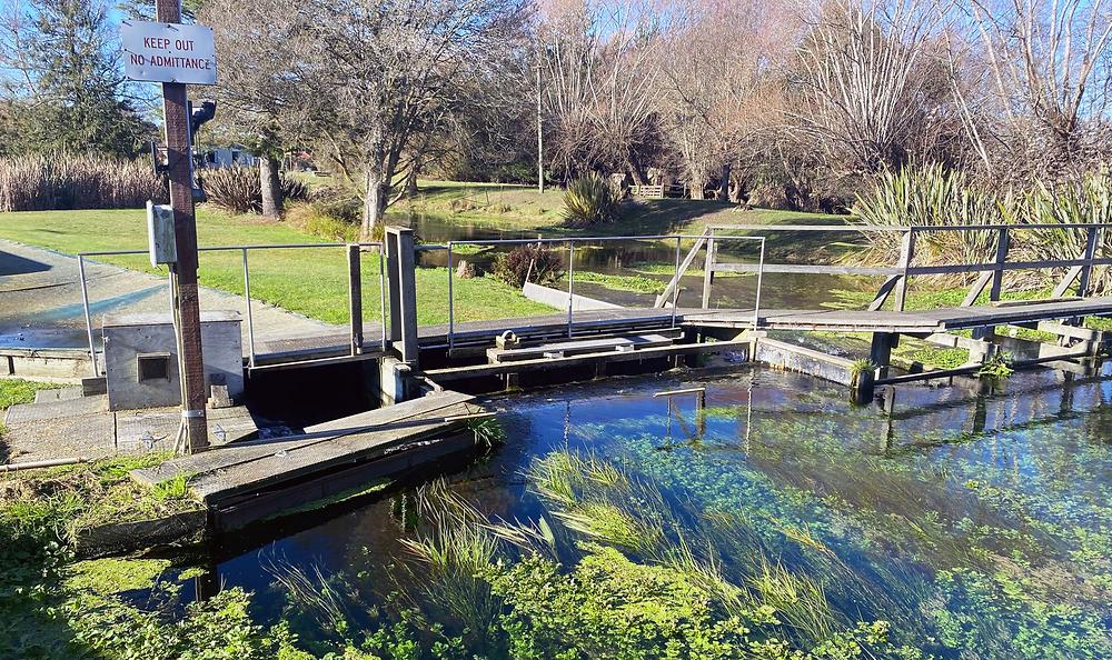 Wwaterwatch monitoring at salmon smolt hatchery