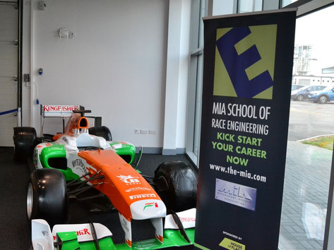 News: Wavey Dynamics at the M.I.A. School of Race Engineering