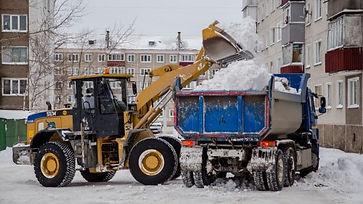вывоз снега с погрузкой цена за куб