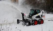 Уборка снега в Москве с парковок
