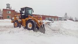 погрузка снега