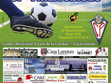 El CP Villarrobledo adelanta su partido al sábado 10 de febrero a las 12:30 horas