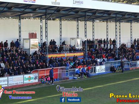 Pedran Lozano nos trae todas las imágenes del CP Villarrobledo 5 Atlético Tomelloso 1