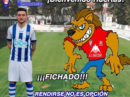 Nacho Huertas es nuevo jugador del CP Villarrobledo