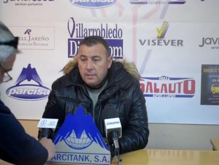 Declaraciones de Darío Martín tras el CP Villarrobledo 5 Atlético Tomelloso 1