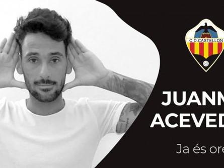 Juanma Acevedo no seguirá en el Villarrobledo y se marcha al Castellón