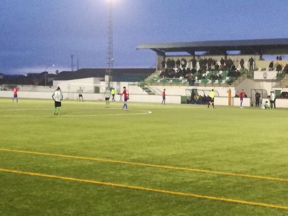 Imagen del partido disputado el pasado sábado entre el Quintanar del Rey y el CP Villarrobledo.