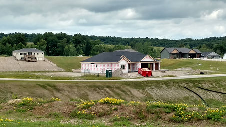 Land Surveying fo New House In Steuben County, Indiana