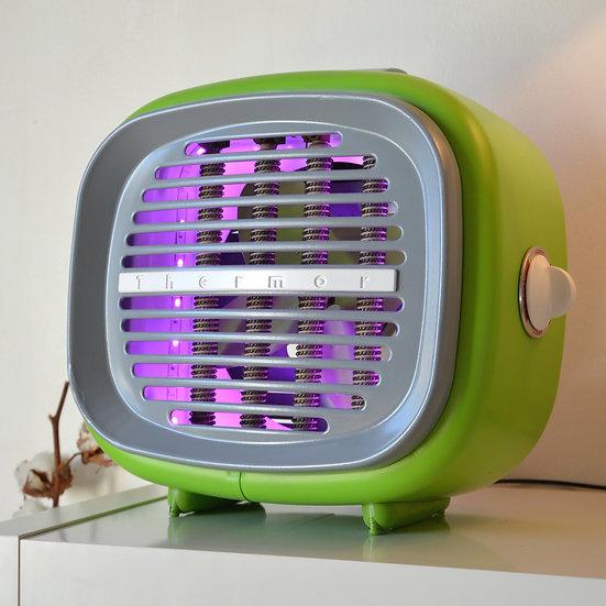 Lampe déco Thermor Vert pomme et Gris souris