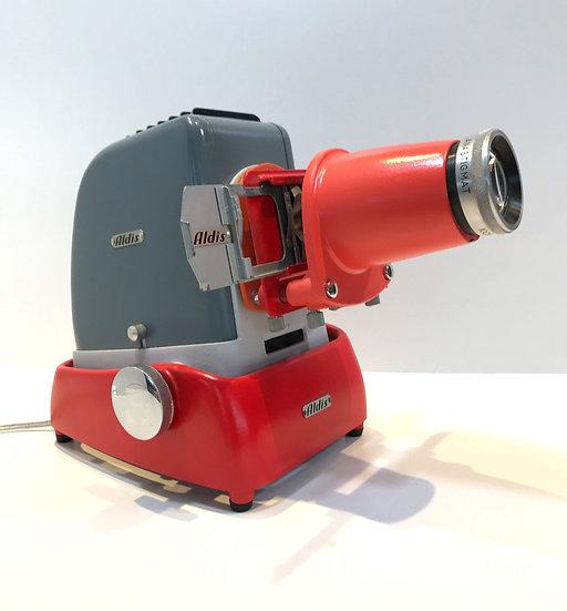 Projecteur diapo Aldis Gris et Rouge